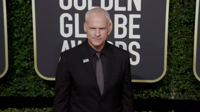 Martin McDonagh at the 75th Annual Golden Globe Awards at The Beverly Hilton Hotel on January 07 2018 in Beverly Hills California