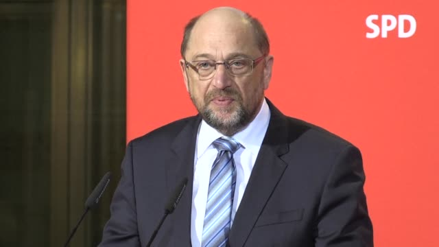 Martin Schulz announced Wednesday he would step down as leader of Germany's centre left Social Democrats and that he intended to serve as foreign...