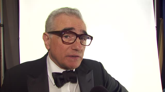 martin scorcese on being honored, on his favorite films he has directed. at the 67th annual golden globe awards - backstage - part 1 at beverly hills... - martin scorsese stock videos & royalty-free footage