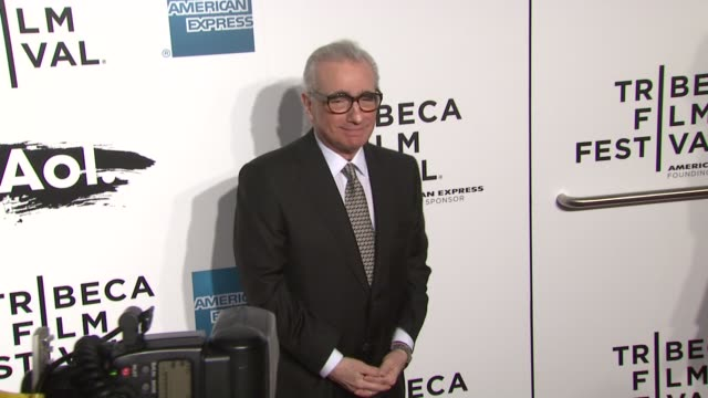 martin scorsese at the 2011 tribeca film festival - opening night - world premiere of 'the union' at new york ny. - martin scorsese stock videos & royalty-free footage