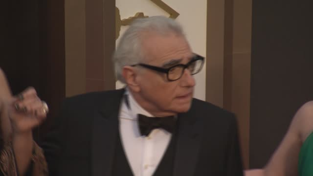 martin scorsese at the 86th annual academy awards - arrivals at hollywood & highland center on march 02, 2014 in hollywood, california. - martin scorsese stock videos & royalty-free footage