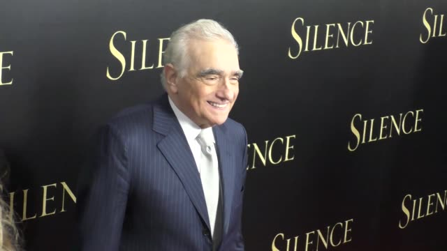 martin scorsese at the premiere of paramount pictures' 'silence' on january 05, 2017 in los angeles, california. - martin scorsese stock videos & royalty-free footage