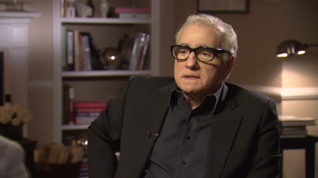 vidéos et rushes de martin scorsese believes that 'america was always represented as a place of opportunity which it still is i think' - avidité