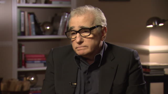 martin scorsese on criticism of his films saying 'i have been staying out of the fray of it, i haven't read much, i haven't read anything really. i... - scriptwriter stock videos & royalty-free footage