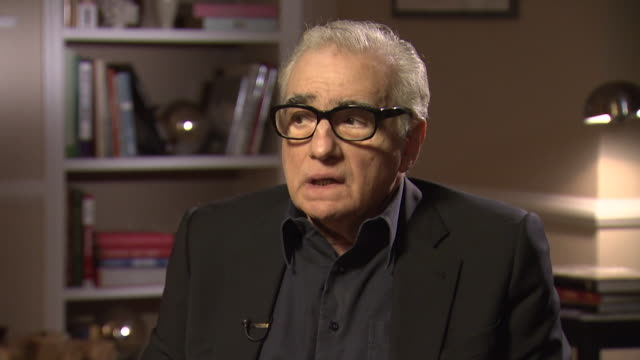 martin scorsese on his unease in new york saying 'i still feel like i will not go into central park..i don't go below 57th street now, that doesn't... - 脚本家点の映像素材/bロール