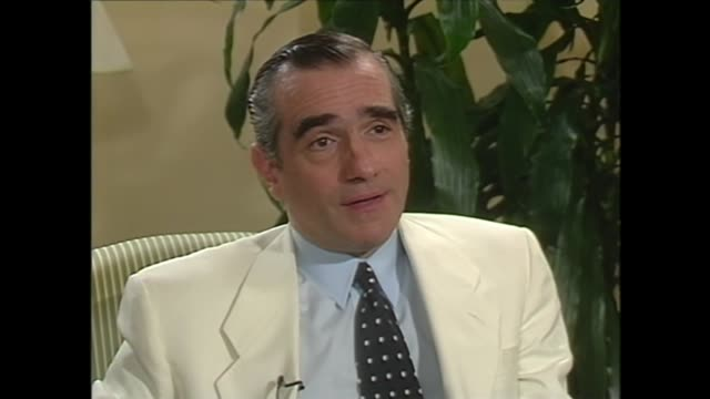 martin scorsese on portraying everyday life in organized crime - martin scorsese stock videos & royalty-free footage