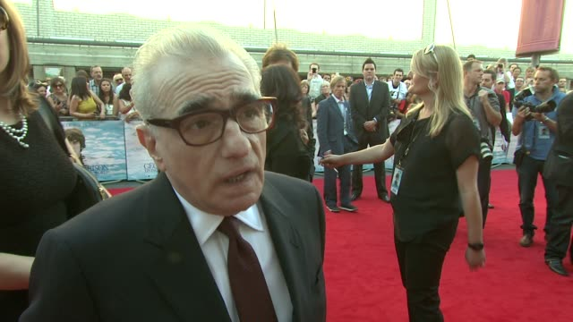 martin scorsese on the direction he approached with at the george harrison: living in the material world uk premiere at london england. - martin scorsese stock videos & royalty-free footage