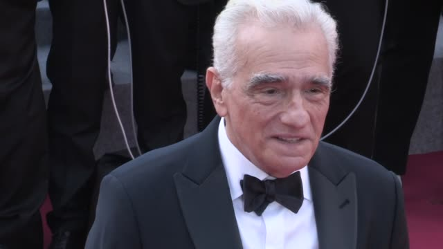 martin scorsese on the red carpet for the premiere of everybody knows, todos lo saben at the cannes film festival 2018. tuesday 8, may 2018 - cannes,... - martin scorsese stock videos & royalty-free footage