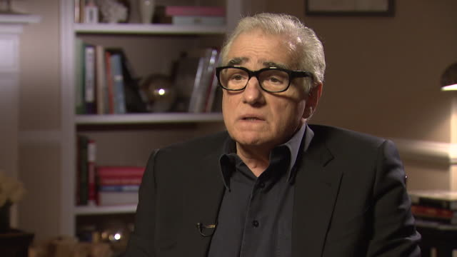stockvideo's en b-roll-footage met martin scorsese saying his film king of comedy was 'reviled' and 'ignored' upon its release - criticus