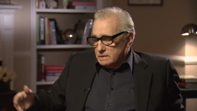 martin scorsese talks about being nervous when his daughter visits central park in new york - 脚本家点の映像素材/bロール