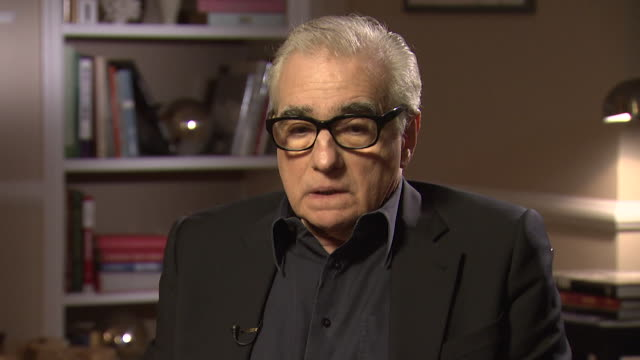 martin scorsese talks about religion in his movies and that pope francis shows 'more compassion rather than condemning' - comforting colleague stock videos & royalty-free footage