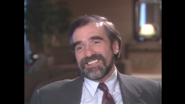 well for me it's never just been another film for me it's always been the most important film i've ever had to make. and it's very important to me,... - martin scorsese stock videos & royalty-free footage