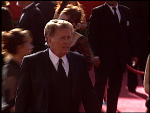 martin sheen at the 2004 emmy awards arrival at the shrine auditorium in los angeles, california on september 19, 2004. - shrine auditorium stock videos & royalty-free footage