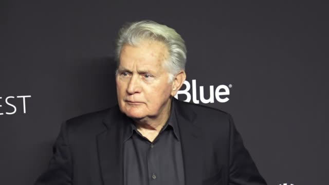 martin sheen at the paley center for media los angeles 2019 panel presentation of 'grace and frankie' at the dolby theatre in hollywood at celebrity... - paley center for media los angeles stock videos & royalty-free footage
