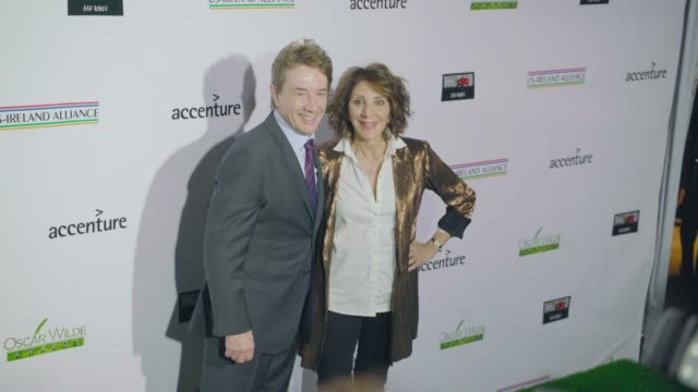 martin short and andrea martin at the 13th annual oscar wilde awards at bad robot on march 01, 2018 in santa monica, california. - martin short stock videos & royalty-free footage