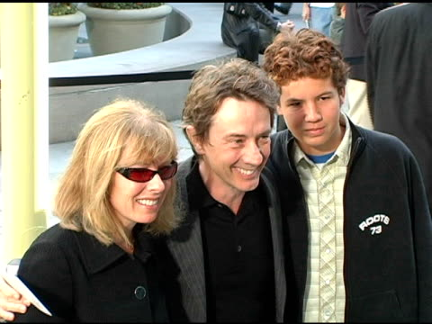 martin short and family at the 'lemony snicket's a series of unfortunate events' world premiere at the cinerama dome at arclight cinemas in... - martin short stock videos & royalty-free footage