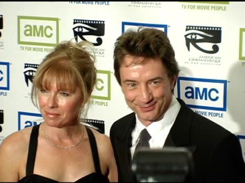 martin short and his wife nancy dolman at the 19th annual american cinematheque award honoring steve martin at the beverly hilton in beverly hills... - martin short stock videos & royalty-free footage
