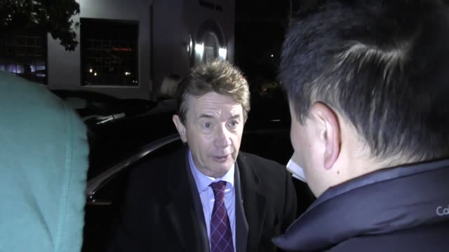 Martin Short arrives at the 13th Annual Oscar Wilde Awards at Bad Robot in Santa Monica in Celebrity Sightings in Los Angeles
