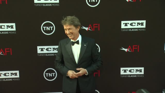 martin short at 41st afi life achievement award honoring mel brooks on 6/6/2013 in hollywood ca - martin short stock videos & royalty-free footage