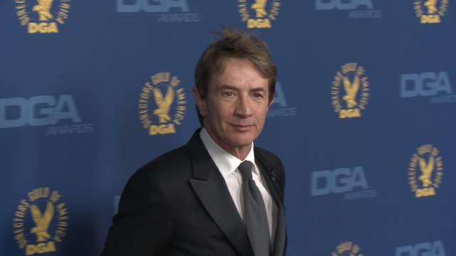 martin short at 65th annual directors guild of america awards arrivals 2/2/2013 in hollywood ca - martin short stock videos & royalty-free footage