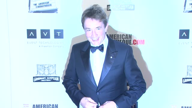 martin short at american cinematheque 26th annual award presentation to ben stiller 2012 on in beverly hills, ca. - martin short stock videos & royalty-free footage