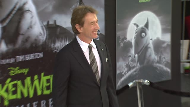 martin short at frankenweenie los angeles premiere on 9/24/2012 in west hollywood ca - martin short stock videos & royalty-free footage
