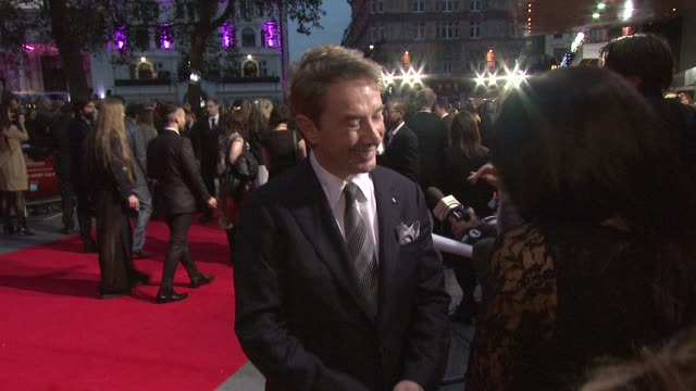frankenweenie premiere bfi 56th london film festival at odeon leicester square on october 10 2012 in london england - martin short stock videos & royalty-free footage