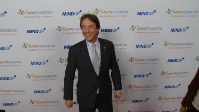 martin short at goldie hawn's inaugural 'love in for kids' benefitting the hawn foundation's mindup program transforming children's lives for greater... - martin short stock videos & royalty-free footage