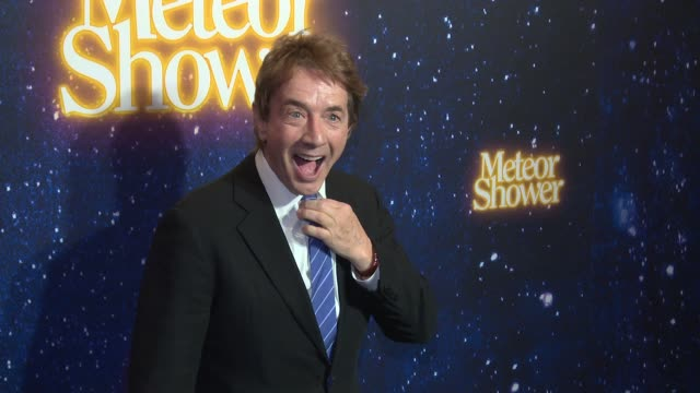 martin short at meteor shower opens on broadway at booth theater on november 29 2017 in new york city - martin short stock videos & royalty-free footage