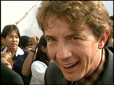 martin short at the 1997 nickelodeon kids' choice awards arrivals at grand olympic auditorium in los angeles, california on april 19, 1997. - nickelodeon stock videos & royalty-free footage