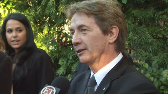 martin short at the 2011 vanity fair oscar party arrivals at hollywood ca - martin short stock videos & royalty-free footage