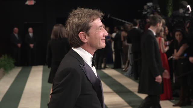 martin short at the 2014 vanity fair oscar party hosted by graydon carter - arrivals on march 02, 2014 in west hollywood, california. - martin short stock videos & royalty-free footage