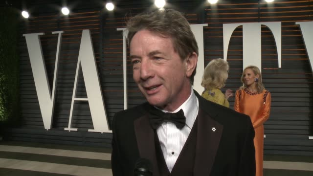 martin short at the 2016 vanity fair oscar party hosted by graydon carter at wallis annenberg center for the performing arts on february 28, 2016 in... - martin short stock videos & royalty-free footage