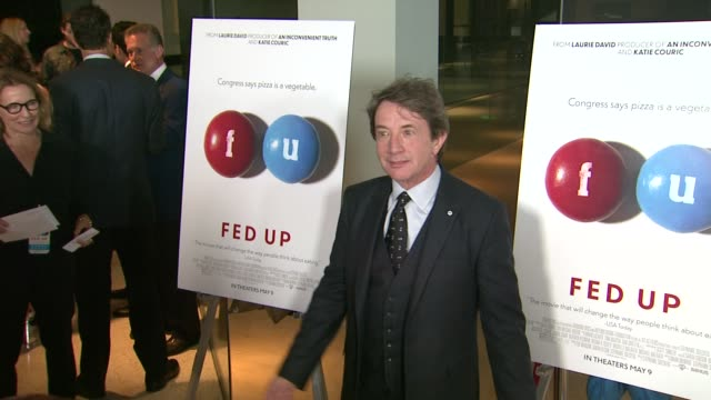 martin short at the fed up los angeles premiere at pacific design center on may 08 2014 in west hollywood california - martin short stock videos & royalty-free footage