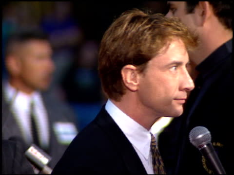 martin short at the 'french kiss' premiere at grauman's chinese theatre in hollywood california on may 1 1995 - martin short stock videos & royalty-free footage