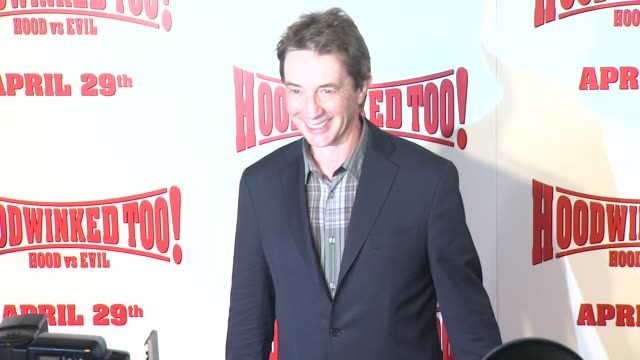 Martin Short at the 'Hoodwinked Too Hood Vs Evil' Premiere at Los Angeles CA