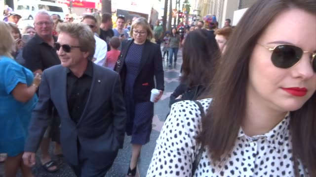 martin short attends the rita wilson hollywood walk of fame ceremony at celebrity sightings in los angeles on march 29, 2019 in los angeles,... - martin short stock videos & royalty-free footage