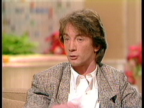 martin short comments that sketch characters are not designed for films. - martin short stock videos & royalty-free footage