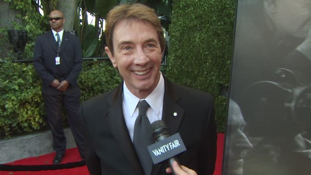 martin short on the vanity fair oscar party at the 2011 vanity fair oscar party arrivals at hollywood ca - martin short stock videos & royalty-free footage