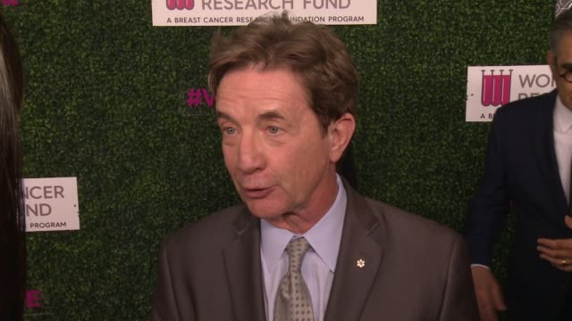 "interview martin short on why he wanted to support wcrf's an unforgettable evening at wcrf's ""an unforgettable evening"" presented by saks fifth... - martin short stock videos & royalty-free footage"