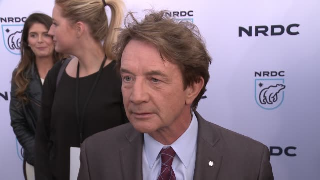 interview martin short on why the work the nrdc does is important to him at nrdc stand up for the planet la 2017 in los angeles ca - national resources defense council stock videos & royalty-free footage