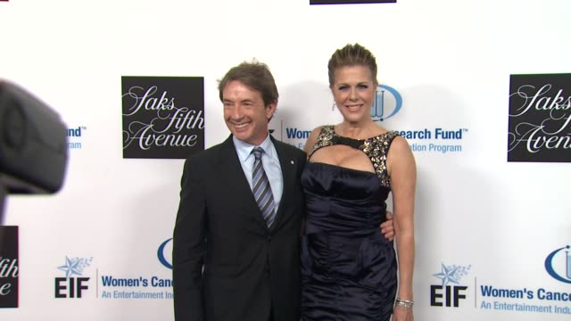 martin short rita wilson at an unforgettable evening benefiting the entertainment industry foundation's women's cancer research fund on 4/18/12 in... - martin short stock videos & royalty-free footage