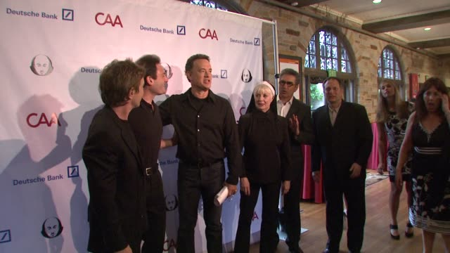 martin short , tom hanks, shirley jones, eugene levy, ben donenberg at the simply shakespeare 2009 'the comedy of errors' at los angeles ca. - martin short stock videos & royalty-free footage