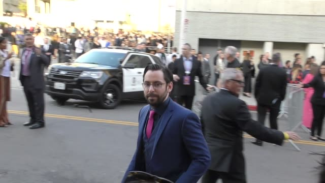 Martin Starr arrives at the premiere of Avengers Infinity War in Hollywood in Celebrity Sightings in Los Angeles
