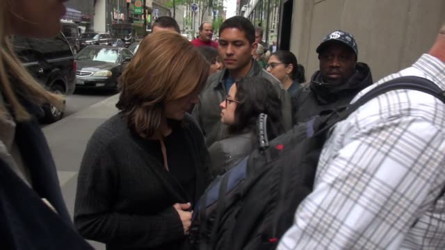 martina mcbride arrives at the 'today' show in celebrity sightings in new york, - martina mcbride stock videos & royalty-free footage