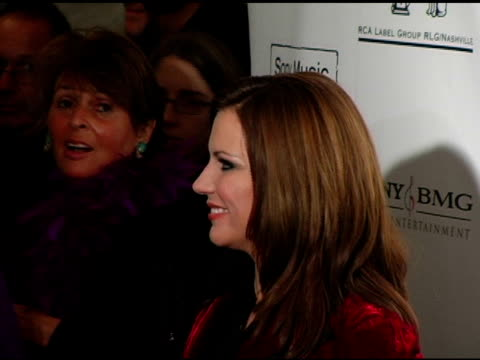 martina mcbride at the 2005 country music awards after party hosted by sony bmg at gotham hall in new york, new york on november 15, 2005. - martina mcbride stock videos & royalty-free footage
