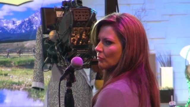 martina mcbride at the 'good morning america' studio on - martina mcbride stock videos & royalty-free footage