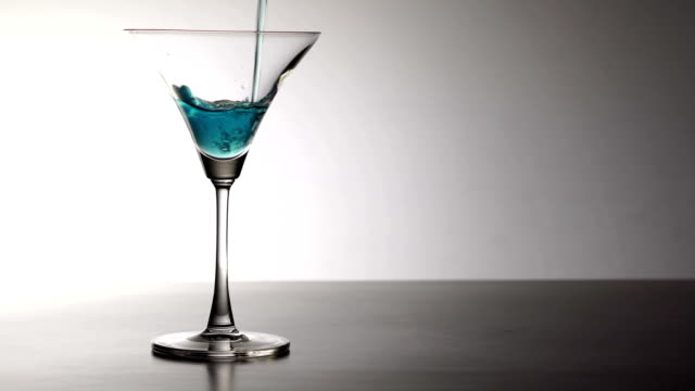 martini glass - martini stock videos & royalty-free footage