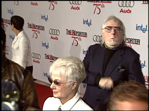 marty ingels at the hollywood reporter 75th anniversary at pacific design center in west hollywood california on september 13 2005 - 75th anniversary stock videos & royalty-free footage