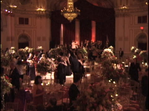 marty richards famous charity red ball on valentines day february 14 1997 many celebrities as guests and honorees - ballroom dancing stock videos & royalty-free footage